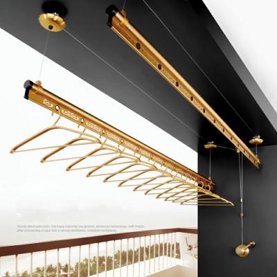 Giàn Phơi Thông Minh TAKASHI JS03 - Hệ 2 Thanh - màu Gold