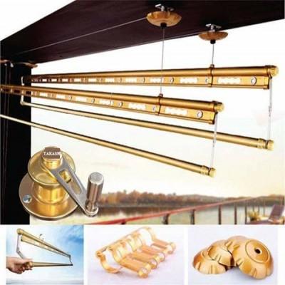 Giàn Phơi Thông Minh TAKASHI JS03 - Hệ 4 Thanh - màu Gold