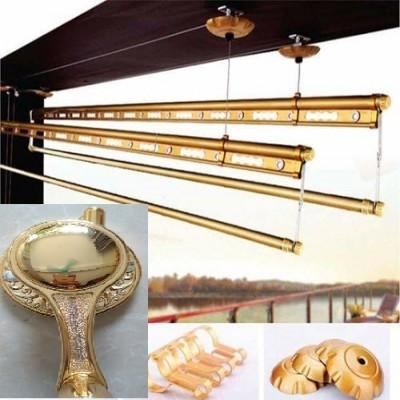 Giàn Phơi Thông Minh TAKASHI HD88 - Hệ 4 Thanh - màu Gold
